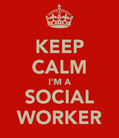 keep calm social work exam