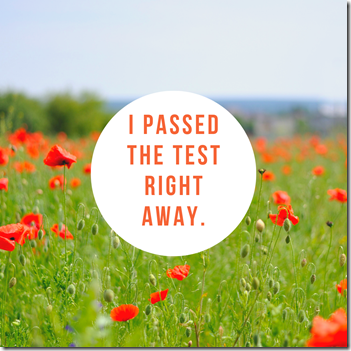 i passed the test right away - karen c., ma licsw